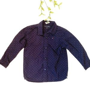 Tommy Hilfiger Toddler Polka Dot Button Down Shirt